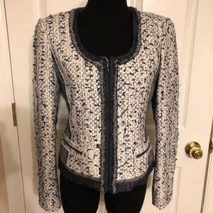 Elie Tahari Womens Tweed Blazer - Like New